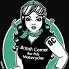 British Corner Bar Pub Motorcycle