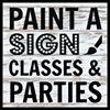 Paint-A-Sign
