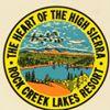Rock Creek Lakes Resort, California's Eastern Sierra