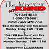 """The Mix"" 1470 KHND Radio"