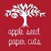 Apple Seed Paper Cuts