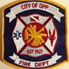 Opp Fire Department