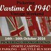 Pickering Wartime & 1940's Weekend