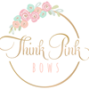 Think Pink Bows thumb