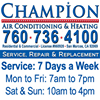 Champion Air Conditioning & Heating