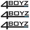 4 Boyz Only