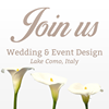 Join us Lake Como Wedding and Events Planner
