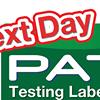 Next Day PAT Testing Labels