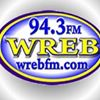 WREB, 94.3 FM, YOUR HITS AND FAVORITES STATION