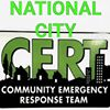 National City - CERT. Community Emergency Response Team