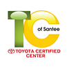 Toyota Certified Center of Santee
