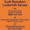 Scott Reardon's Locksmith Service
