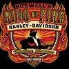 Boswell's Ring of Fire Harley Davidson