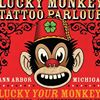 Lucky Monkey Tattoo