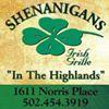 Shenanigans Irish Grille