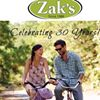 Zak's...Naturally