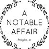 A Notable Affair