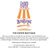 Paper Boutique
