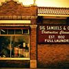 Sig Samuels Dry Cleaners