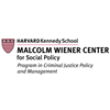 Harvard Kennedy School Program in Criminal Justice