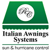 Italian Awnings Systems | Toldos Retractables • Cortinas • Tormenteras