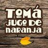 Jugátela, jugo de naranja natural
