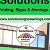 Solutions printing, signs and  awnings ltd