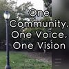 One Community, One Voice, One Vision