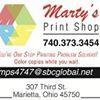 Marty's Print Shop
