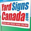 Yard Signs Canada