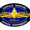 PERS-41: Surface Warfare Officer Assignments