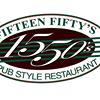1550 Fifteen Fifty's Restaurant