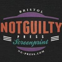 NotGuilty Press - Bristol Art & Clothing Printers.