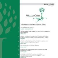 William Carey International Development Journal