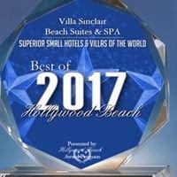 Villa Sinclair #1 Best Hollywood Beach Villa Hotel 2009/2010/2011 & 2012