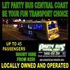Party Bus Central Coast