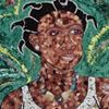 "Nana-Dictta - Fine Art Mosaic ""simply green"""