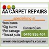 AA Carpet and Vinyl Repairs