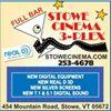 Stowe Cinema 3-Plex Projection Room & Lounge