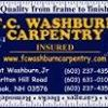 F.C. Washburn Carpentry