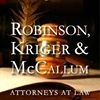 Robinson, Kriger & McCallum - Attorneys At Law