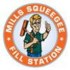 Mills Squeegee Fill Stations
