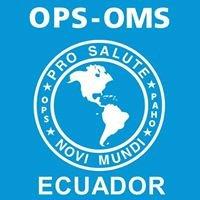 Organización Panamericana de la Salud Ecuador
