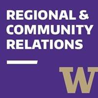 University of Washington Regional & Community Relations