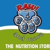 RAW! 4 Paws And More