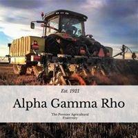 Alpha Gamma Rho: Rho Chapter