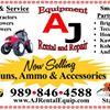 AJ Rental & Equipment Repair