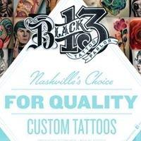 Black 13 Tattoo Parlor