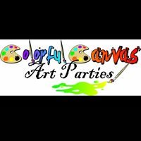 Colorful Canvas Art Parties