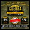 Guerra Plumbing, Sewer & Professional Drain cleaning services